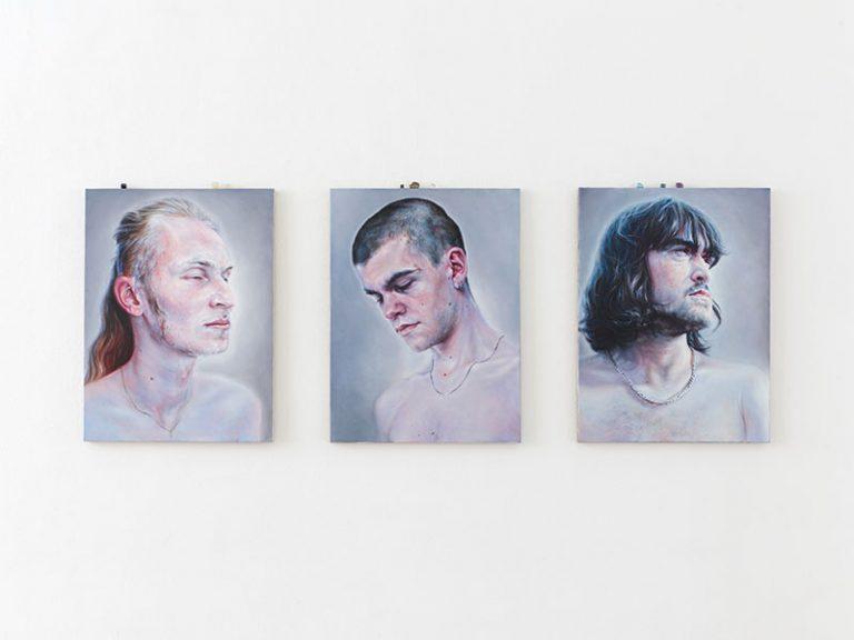Exhibitionview, Hunger nach Bildern, 2020, Thomas Rehbein Galerie, Köln