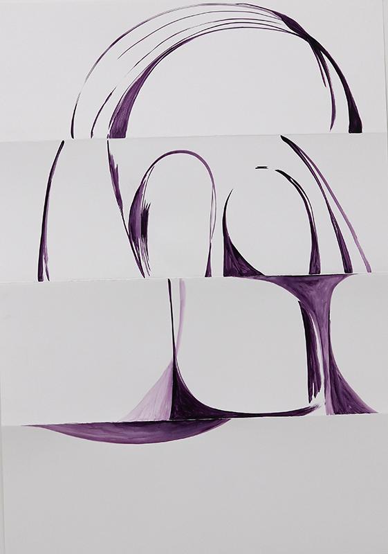 Benjamin Houlihan_2019_TRG_Zeichnung_Scull_99x70cm