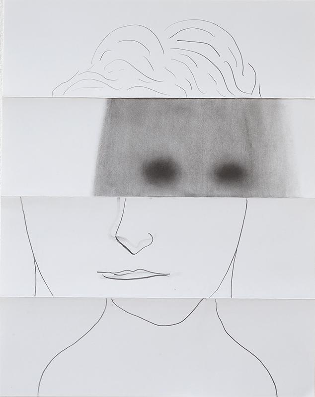 Benjamin Houlihan_OhneTitel_Gesicht_2019_BleistiftAufPapier_35x27cm