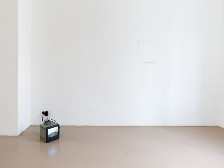 William Anastasi_Ausstellungsansicht / Exhibition view, 2019